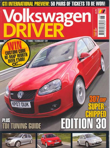 VW DRIVER Magazine Issue 85 (U.K.)